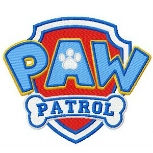 Paw Patrol Iron On Patch